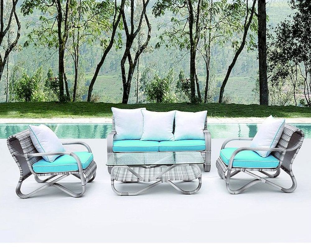 Crescent Outdoor Sofa Set In By Modway My Eei736