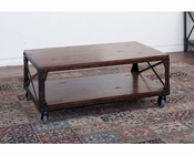 Crosswinds Coffee Table by Sunny Designs SU-3232WM-C
