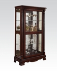 Curio Cabinet w/ 4 Side Doors by Acme Furniture AC90066