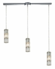 ELK Cynthia Collection 3 Light Chandelier in Polished Chrome EK-31486-3L