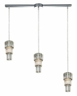 ELK Cynthia Collection 3 Light Chandelier in Polished Chrome EK-31489-3L