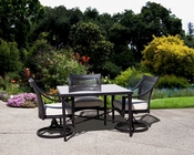 Dakota Patio Dining Set w/ Square Table by Sunny Designs SU-4751-Set