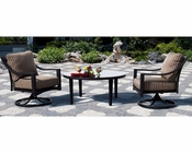 Dakota Patio Set w/ Chat Table Sunny Designs SU-4751-Set2