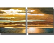Dan Werner Reflections on the Sea 2pc Set