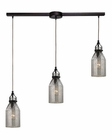 ELK Danica  Collection 3 Light Chandelier in Oil Rubbed Bronze EK-46009-3L