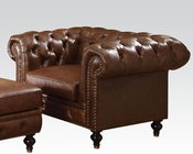 Dark Brown Chair Shantoria by Acme Furniture AC51317