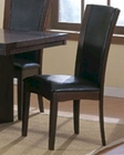 Dark Brown Dining Side Chair Daisy EL-710S ( Set of 2 )