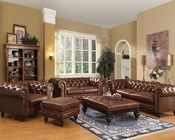 Dark Brown Sofa Set Shantoria by Acme Furniture AC51315SET
