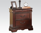 Dark Cherry Nightstand Estrella by Acme Furniture AC20733