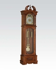 Dark Oak Grandfather Clock by Acme Furniture AC97085
