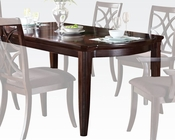 Dark Walnut Dining Table Keenan by Acme Furniture AC60255