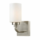 ELK Dawson Collection 1 light bath in Brushed Nickel - LED EK-11660-1-LED