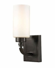ELK Dawson Collection 1 light bath in Oil Rubbed Bronze EK-11670-1