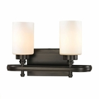 ELK Dawson Collection 2 light bath in Oil Rubbed Bronze- LED EK-11671-2-LED