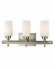 ELK Dawson Collection 3 light bath in Brushed Nickel EK-11662-3