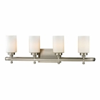 ELK Dawson Collection 4 light bath in Brushed Nickel - LED EK-11663-4-LED