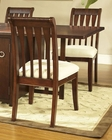 Deep Cherry Finish Chair Caress by Somerton SO-629B31 (Set of 2)