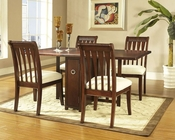 Deep Cherry Finish Dining Set Caress by Somerton SO-629G60SET