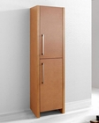Delano Chestnut 16in Modern Side Cabinet by Virtu USA VU-ESC-261-CH