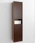 Delmore 12in Walnut Side Cabinet by Virtu USA VU-ESC-621-WA