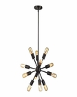 ELK Delphine 12 Light Chandelier in Oil Rubbed Bronze EK-46230-12