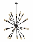 ELK Delphine 24 Light Chandelier in Oil Rubbed Bronze EK-46232-24