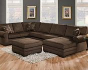 Deluxe Sectional Sofa Tenner by Acme Furniture AC50610SET