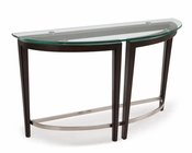 Demilune Sofa Table Carmen by Magnussen MG-T3110-75
