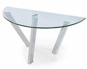 Demilune Sofa Table Prism by Magnussen MG-T3365-75