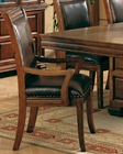 Dining Arm Chair in Tobacco Cherry CO-3637 (Set of 2)