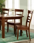 Dining Chair Cottage Cherry Chocolate by Ayca AY-132005 (Set of 2)