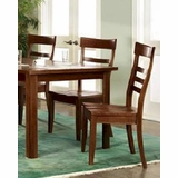 Dining Chair Cottage Cherry Chocolate By Ayca AY 132005 (Set Of 2)