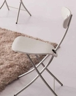 Contemporary Chairs w/ Vinyl Covered 33D423 (Set of 2)