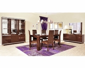 Dining Set Caprice European Design Made in Italy 33D321