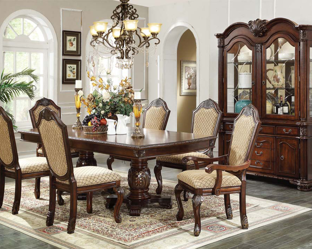 Dining Set Chateau De Ville Espresso By Acme Furniture