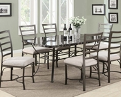 Dining Set Daisy by Acme Furniture AC70094BK-SET