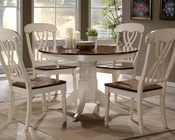 Dining Set in Buttermilk/ Oak Dylan by Acme AC70330SET