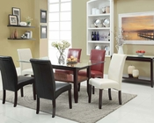Dining Set in Espresso Finish Ripley by Acme Furniture AC71360SET