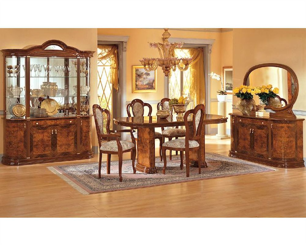 Dining Set Minerva European Design Made In Italy 33D31