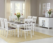 Dining Set Sanibel by Homelegance EL-2119BK-78-SET