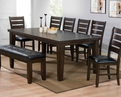 Dining Set Urbana Espresso by Acme Furniture AC74620SET