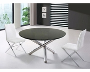Dining Set w/ Dining Round Table in Contemporary Style 44DET08-SET