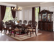 Dining Set w/ Leg Table Deryn Park by Homelegance EL-2243-114-SET