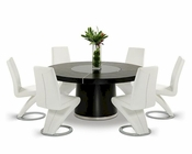 Dining Set w/ Oak Table in Contemporary Style 44D850T-SET