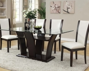 Dining Set w/ Rectangular Table Malik by Acme Furniture AC70505SET