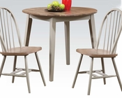 Dining Set w/ Round Table Margret by Acme Furniture AC71635SET