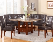 Dining Set w/ Storage Table Bologna by Acme AC07050SET