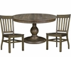 Dining Set with Round Table Karlin by Magnussen MG-D2471-22SET
