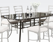 Dining Table Daisy by Acme Furniture AC70094BK