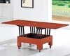 Dining Table in Cherry Finish European Design 33D332